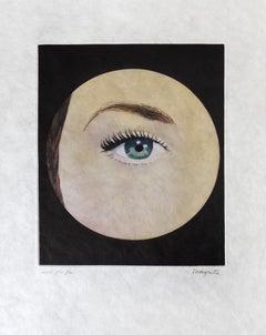RENÉ MAGRITTE - L'Oeil - Limited ed. Etching & Aquatint  Surrealism