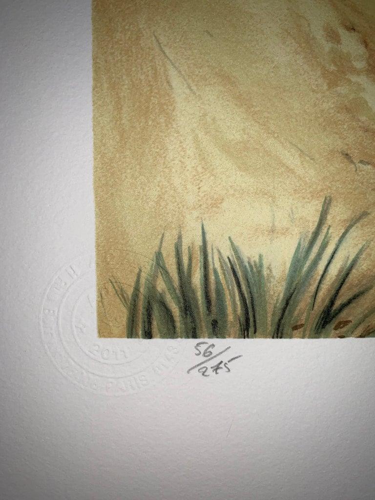 Schéhérazade - 20th Century, Surrealist, Lithograph, Figurative Print 3