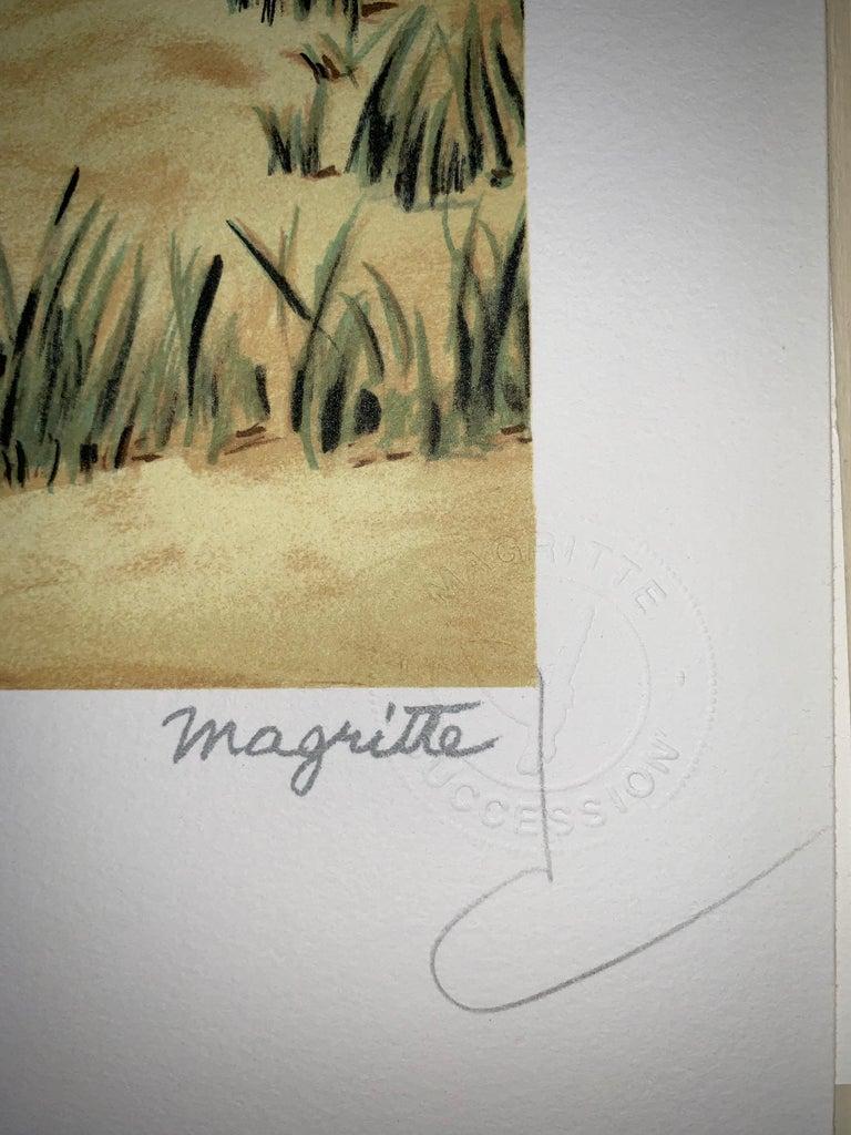 Schéhérazade - 20th Century, Surrealist, Lithograph, Figurative Print 4