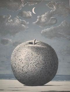 Souvenir de Voyage - 20th Century, Surrealist, Lithograph, Figurative Print
