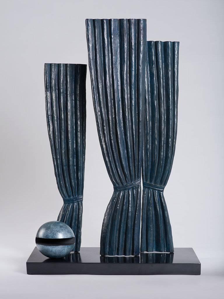 (after) René Magritte - La Joconde - Surrealist Bronze Sculpture