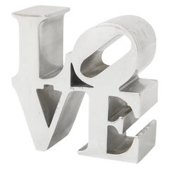 After Robert Indiana Love Paperweight
