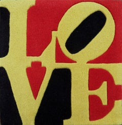 Liebe Love - Art rug #With Certificate of edition on the back