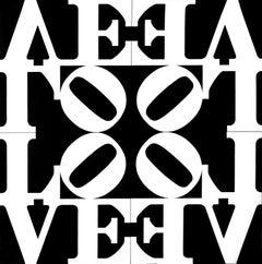 Love Rising - Offset Poster After Robert Indiana - 2010