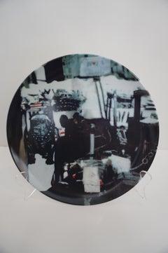 Foo Dog and Shadows (plate)