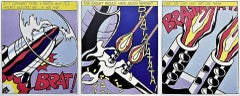 As I Opened Fire, Roy Lichtenstein