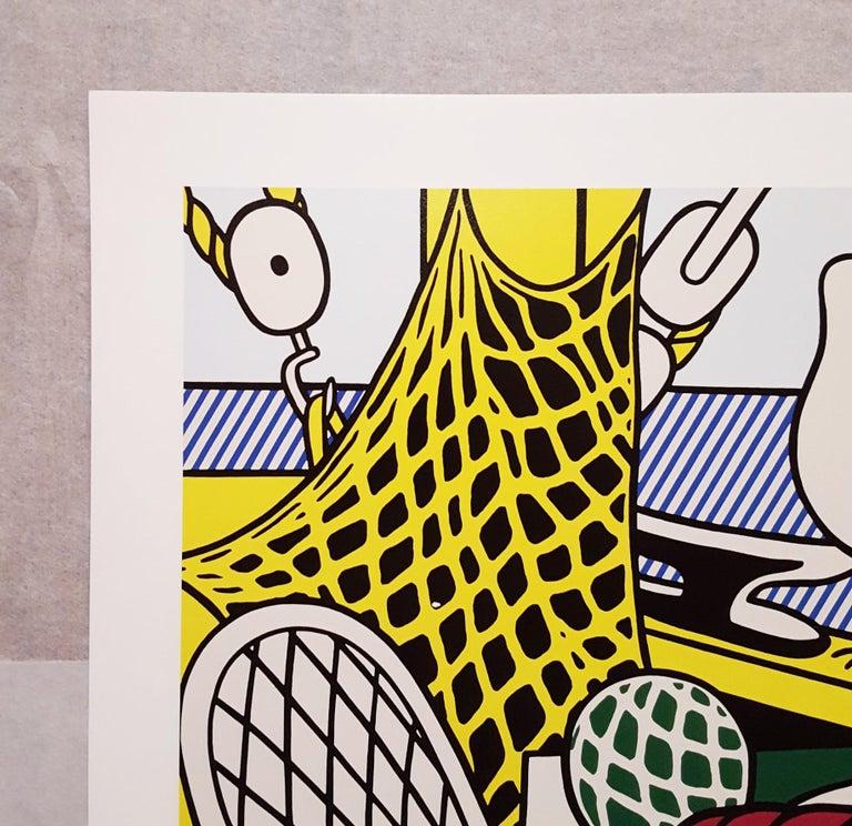 Gagosian Gallery (Cape Cod Still Life II) - White Still-Life Print by (after) Roy Lichtenstein