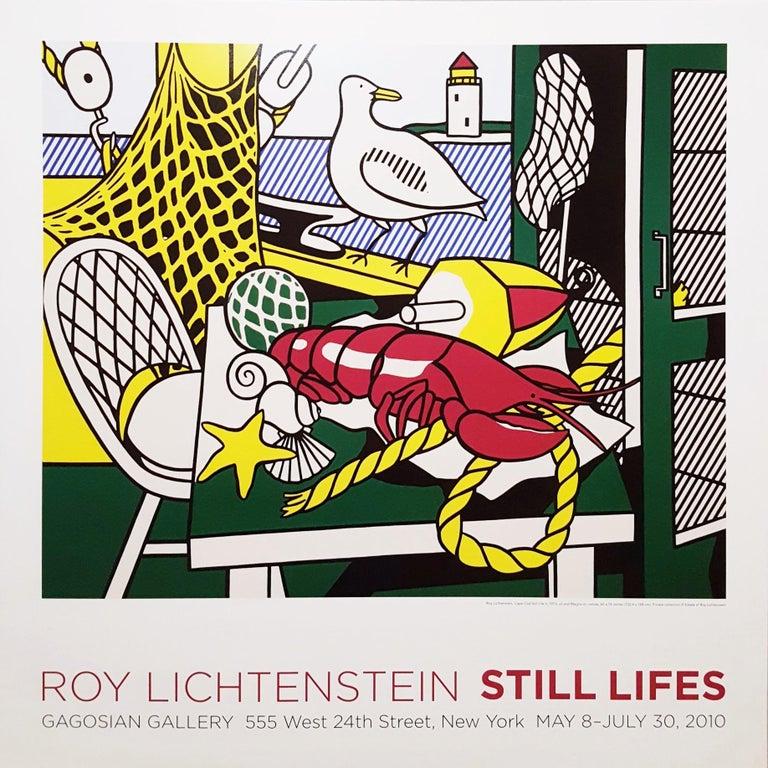 (after) Roy Lichtenstein Still-Life Print - Gagosian Gallery (Cape Cod Still Life II)