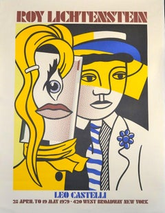 Roy Lichtenstein for Leo Castelli - Original Lithograph After R. Lichtenstein