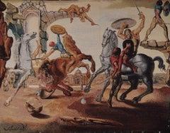 Bataille Autour d´un Pissenlit (Battle round a Dandelion) - Tapestry - Ltd /600