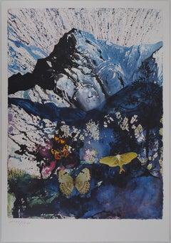 Butterfly suite : Les Alpes - heliogravure - 1969