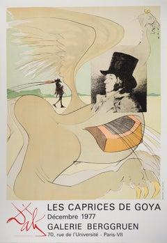 Les Caprices de Goya - Lithograph Poster (Field #77-3)
