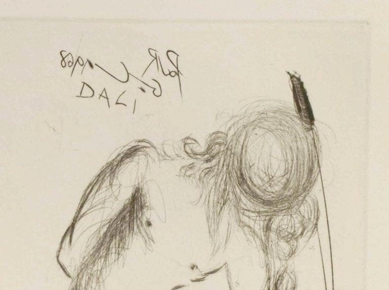 Narcissus - Beige Portrait Print by (after) Salvador Dali