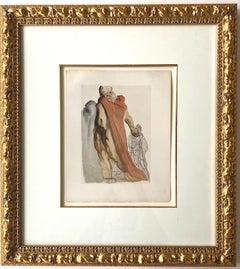 Salvador Dali Heretics Inferno For The Divine Comedy
