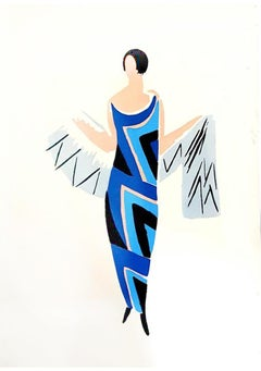 Sonia Delaunay - Living Painting - Colour Pochoir