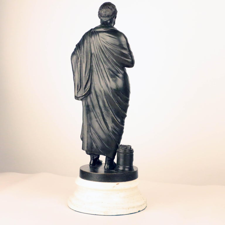 Italian After the Antique, Grand Tour Bronze of Aristotle For Sale