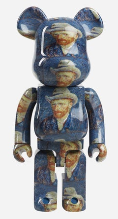 Vincent Van Gogh Bearbrick 1000% Companion (Van Gogh BE@RBRICK)
