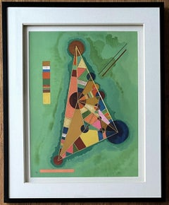 Composition - Lithograph Signed in the Plate - Framed