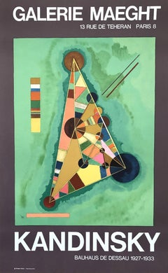 Geometric Composition - Lithographic Poster