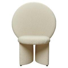 Afternoon Chair by Lara Bohinc Cream Boucle Fabric