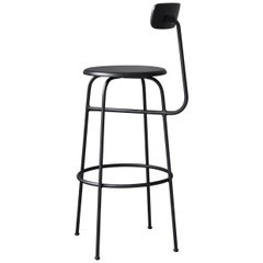 Afteroom Bar Chair, Black Wood