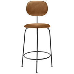 Afteroom Bar Chair Plus, Bar Chair in Cognac Leather