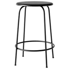 Afteroom Counter Stool, Black Wood