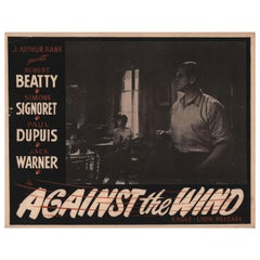 Against the Wind 1948 Canadian Scene Card