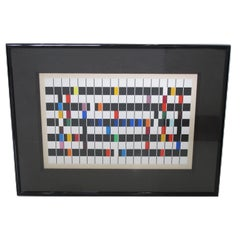 One and Another - Kinetic Op Art Serigraph Signed & Numbered