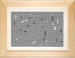 V from Double Metamorphosis Series, Large Silkscreen by Yaacov Agam