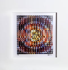 Visual Welcome, Agamograph by Yaacov Agam
