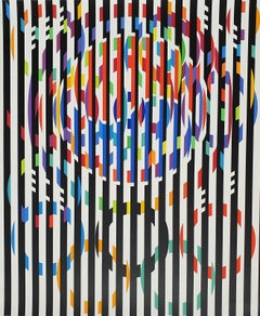 "Yaacov Agam "" Message of Peace ""  1988"