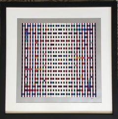 Yaacov Agam 'Untitled' Signed Artist's Proof Geometric Abstract Print