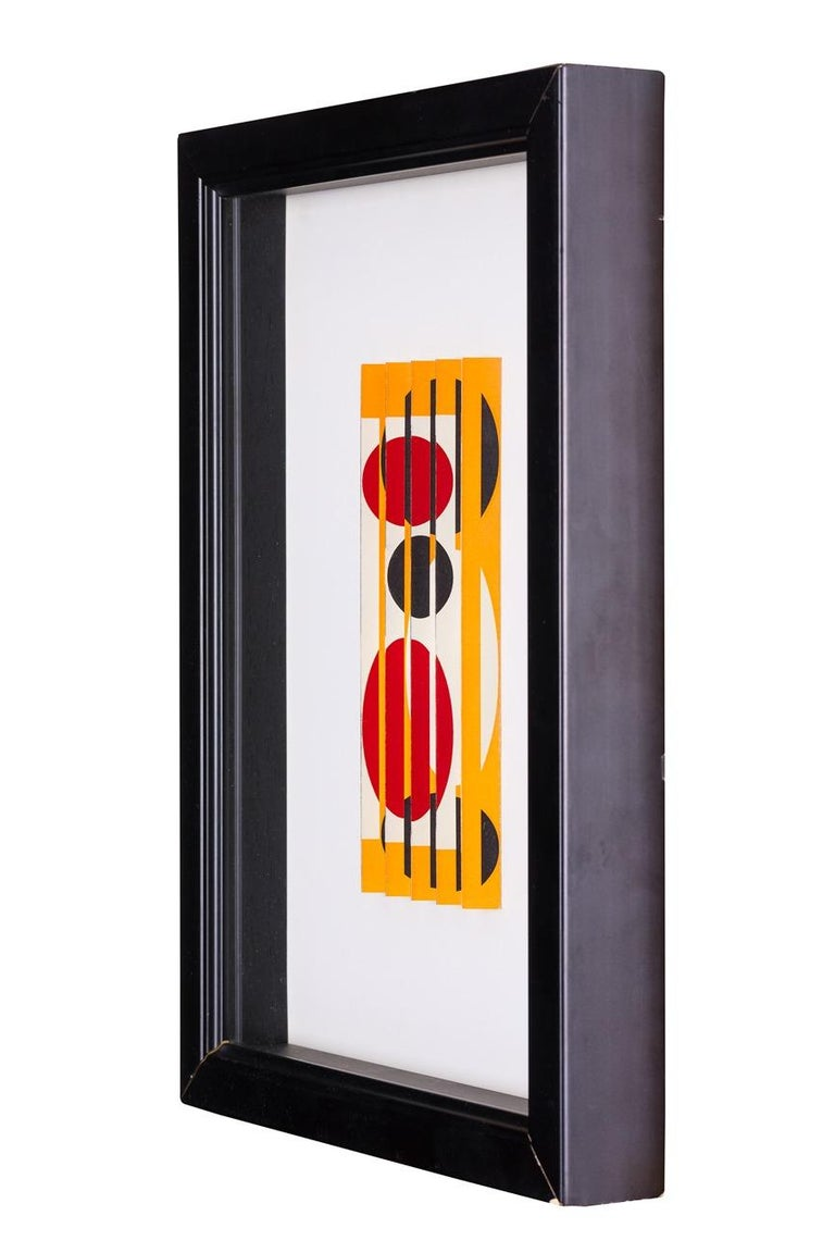 Yaacov Agam, Untitled 1962 - Sculpture by Agam Yaacov