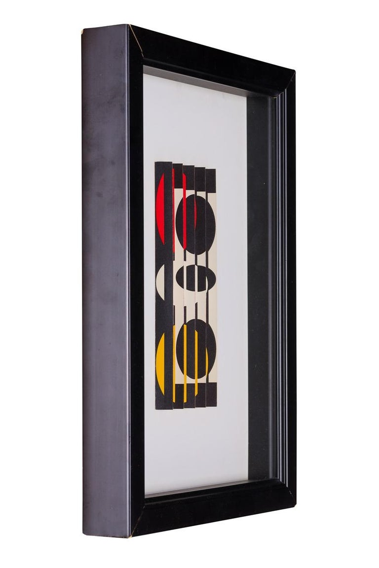 Yaacov Agam, Untitled 1962 - Kinetic Sculpture by Agam Yaacov