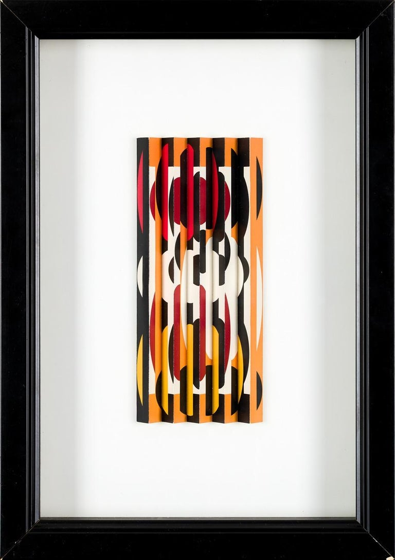 Agam Yaacov  Abstract Sculpture - Yaacov Agam, Untitled 1962