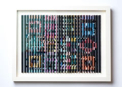 Yaacov Agam, Midnight Light, Kinetic work, colored work