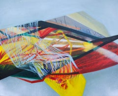 SERIES: TISSUE - Tissue XXI - Modern Abstract Painting, Conceptual Painting