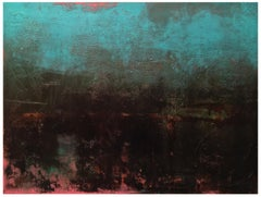 The Night Will Share Its Secrets, Abstract Oil Painting