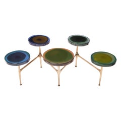 Agatha Coffe Table 5 by Draga & Aurel Resin and Bronze, 21st Century