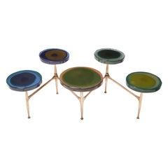 Agatha Coffe Table 5 by Draga & Aurel Resin and Bronze, 21st Century