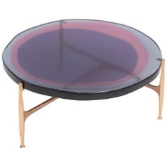 Agatha Coffee Table Large by Draga & Aurel Resin and Bronze, 21st Century