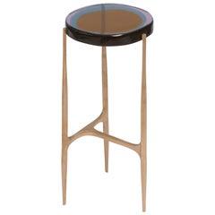Agatha Single Coffee Table High by Draga&Aurel Resin and Bronze, 21st Century
