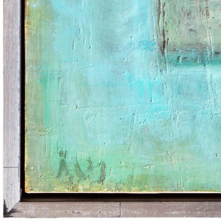 Mid-Century Danish 'Abstract in Primrose and Blue', Benezit and Thieme-Becker For Sale 2