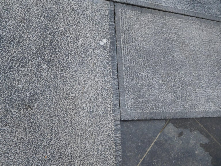 Stone Aged Floortiles in Country-Style, Belgian Bleustone For Sale