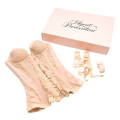 Agent Provocateur Mercy Corset In Nude SIZE S