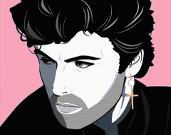 Agent X, George Michael, Limited Edition Print, Celebrity Art, Bright Pop Art