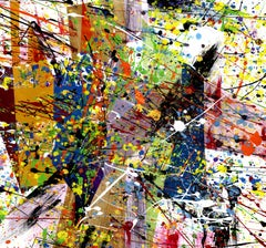 Ardala 5 Episodes BY AGENT X, Abstract Art, Expressionist Artwork, Original Art