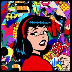 Betty's Flashbacks (Pop Art, Street Art, Urban Art)