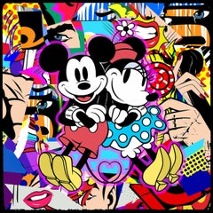 M Loves M (Pop Art, Street Art, Urban Art, Disney, Mickey)